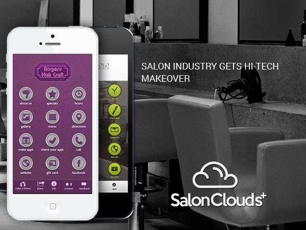 SALON INDUSTRY GETS HI-TECH MAKEOVER