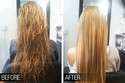 Keratin Treatment Hair Straightening Treatments