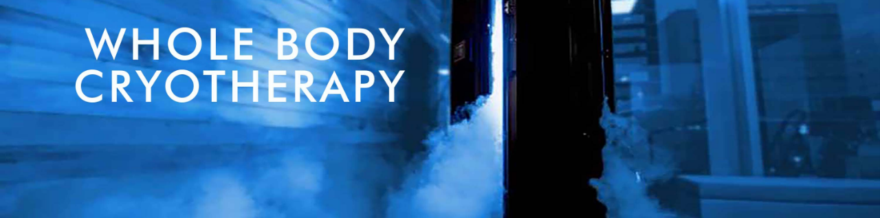 Cryotherapy in Cambridge, Burlington