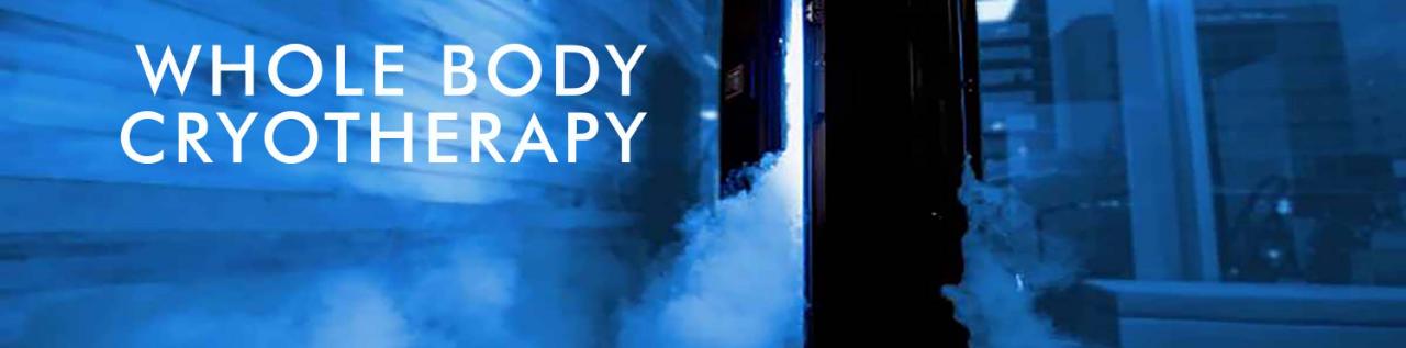 Cryotherapy in Cambridge, Burlington