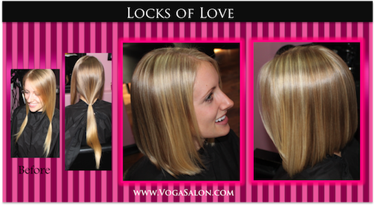 Want to donate your hair? Consider Locks of Love!
