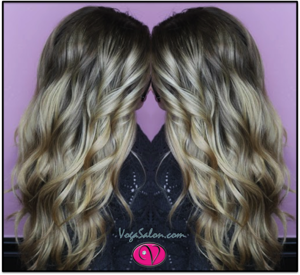 Beautiful Balayage in Kansas City from Voga Salon