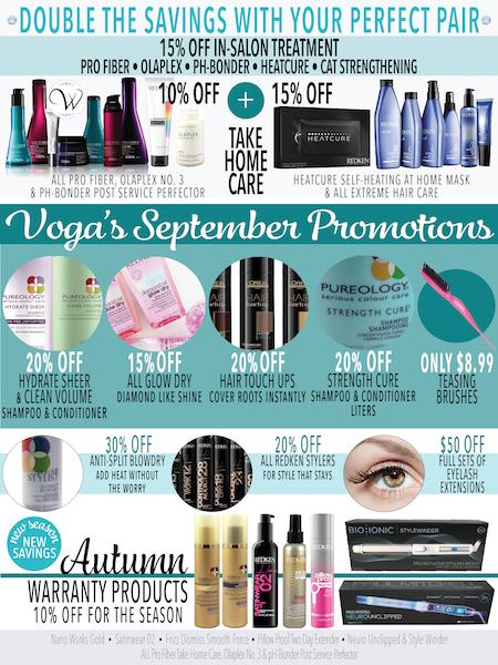 September 2017 Promotions