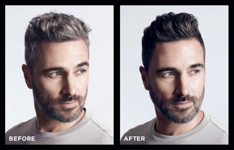 A Perfect Gray Coverage Solution for Men