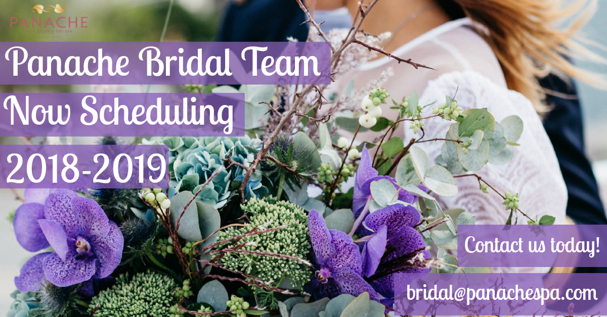 Bridal Services at Panache are Booking for the 2018 - 2019 Season!