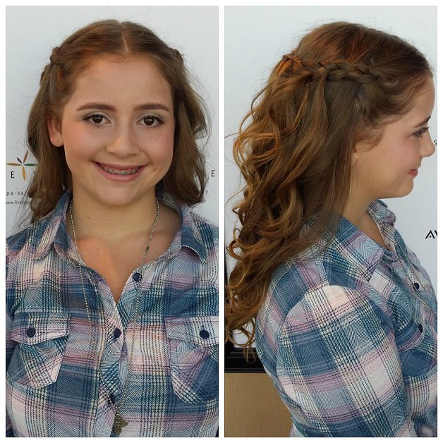 Homecoming Up-Do by Alyssa!