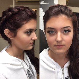 Homecoming hair and makeup