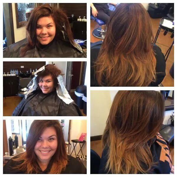 Tina's Hair Transformation - Ombre