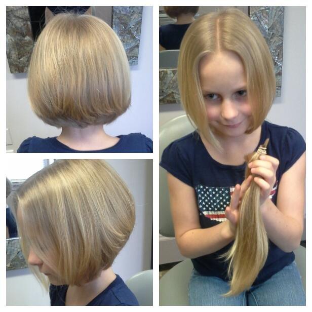 Design Cut - Asymmetric cut and style by Lisa Kay for Kaitlyn