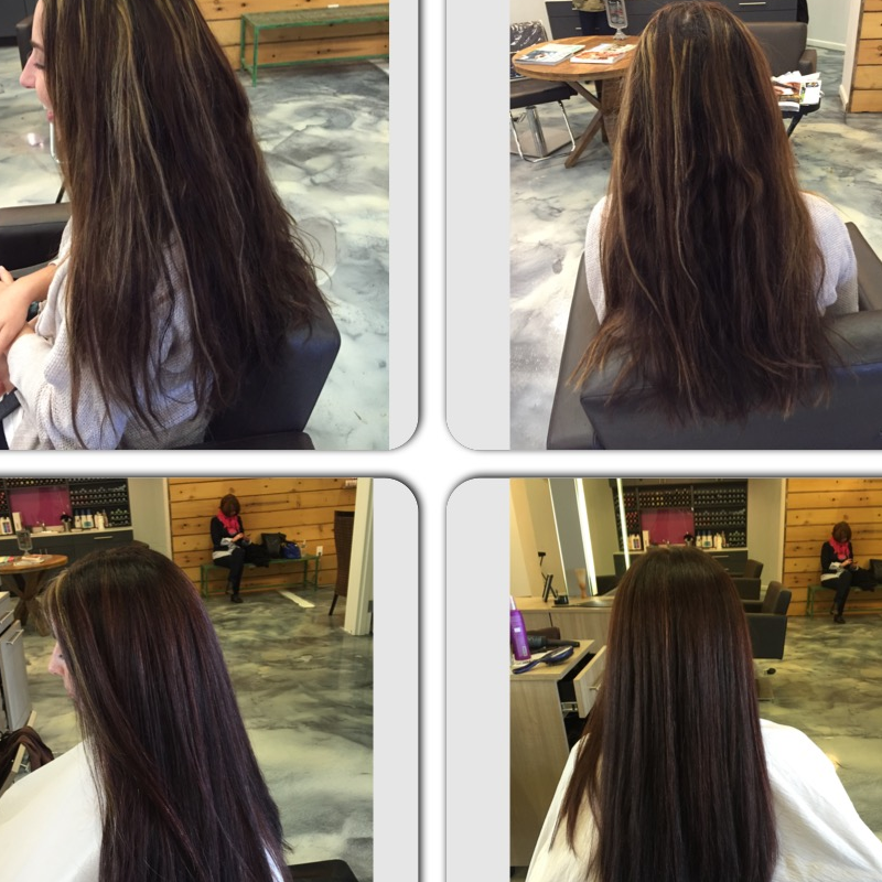 Before and After Cut by Jessica
