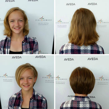 Haircut by one of our master stylists, Melissa!