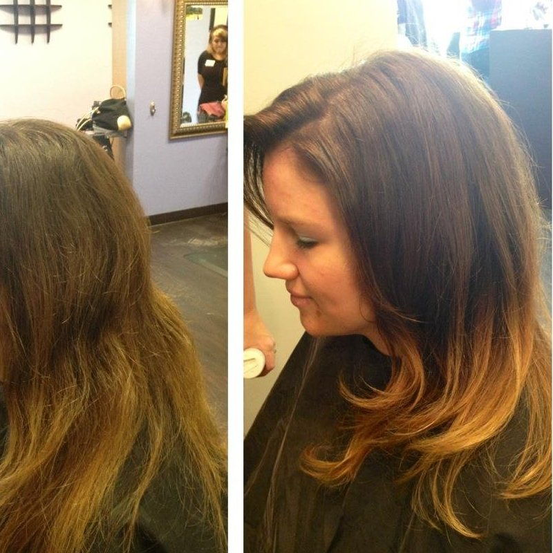 Ombre Color created with Redken Chromatics