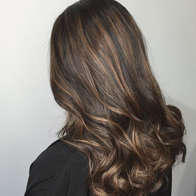 Soft Caramel Highlights