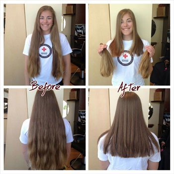 Hair donation to Children with Hairloss!
