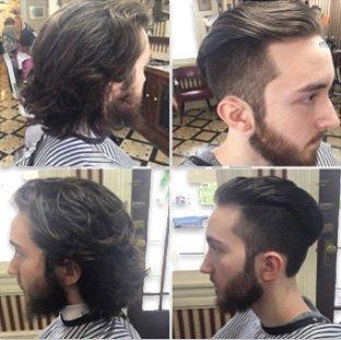 Barber makeover