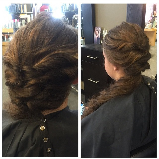 Formal Dance Updo