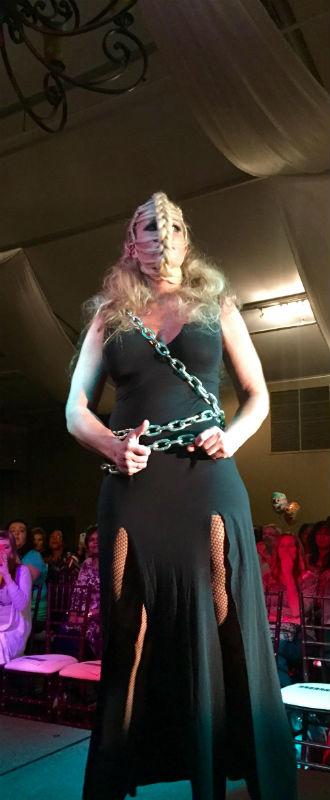 Hair Wars 2015 - Crystal's model for Hair Wars