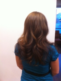 Balyage and Haircut