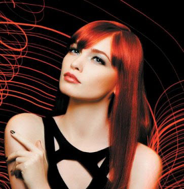 Chromatics Red American Salon