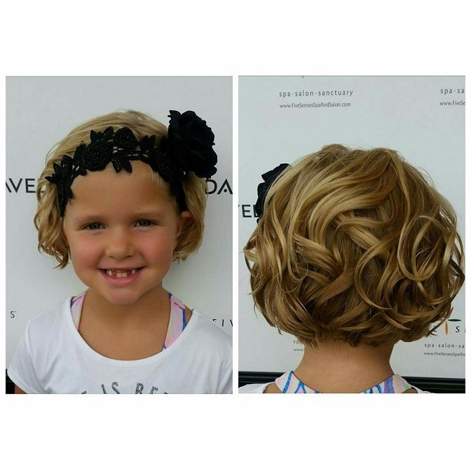 Flower Girl curls done by Melissa!