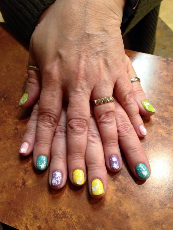 Easter Manicure