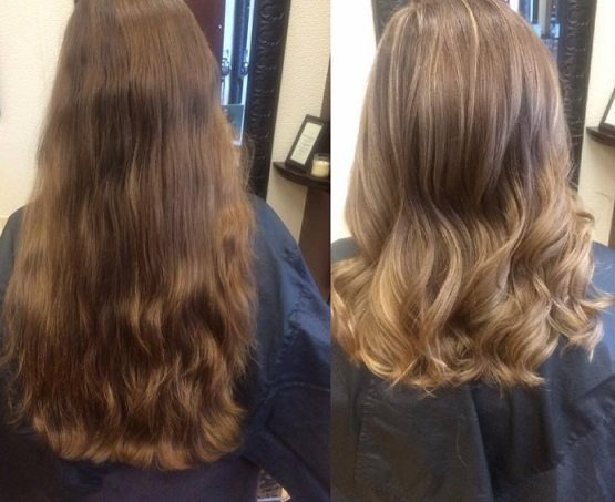 Courtney took her guest Chelsea's hair to a different level with subtle balayage highlights and a fresh new cut!