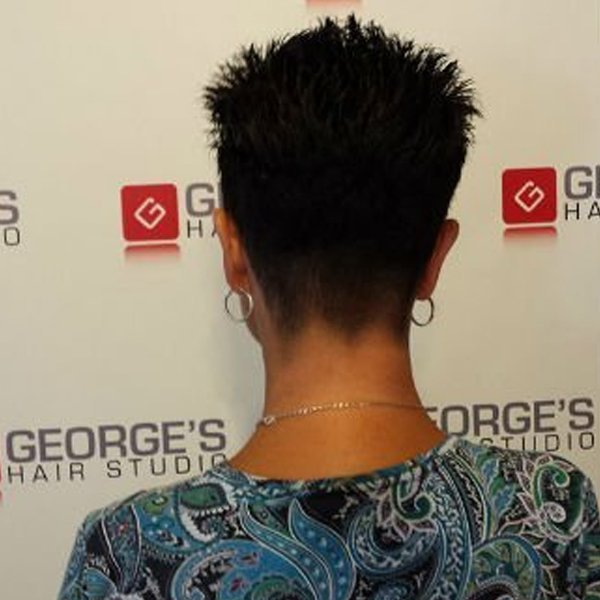 George's Hair Studio Before & After