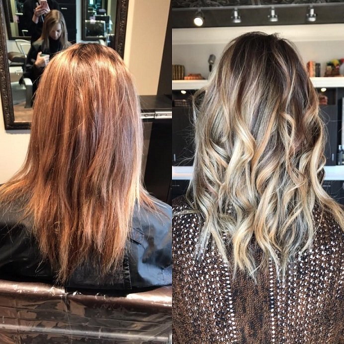 Such a gorgeous color transformation by Jailyn!