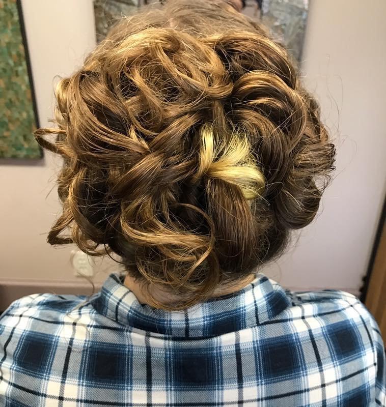 Formal Style - Updo by Tara for Alexa