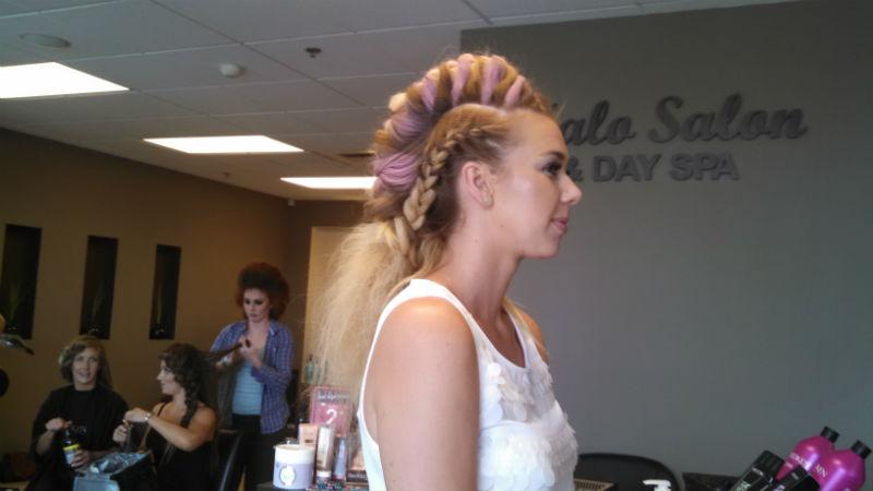Hair Wars 2015 - Kelley's Hair Wars model