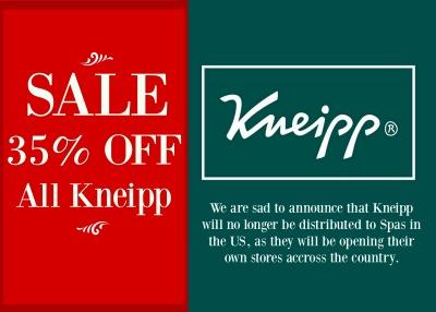 Kneipp Sale!