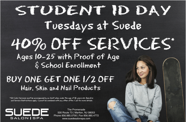 Student ID Day Tuesdays