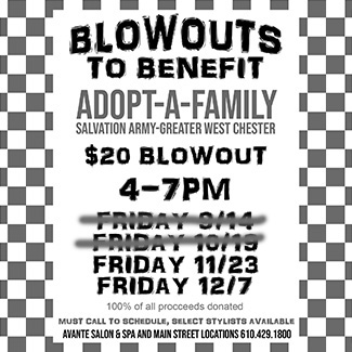 Blowouts to Benefit
