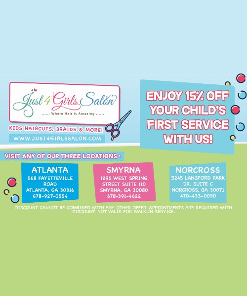 15% OFF your first visit with us!