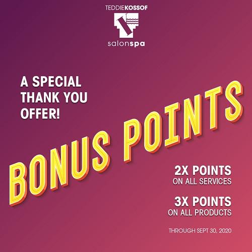 Get your Bonus Points!
