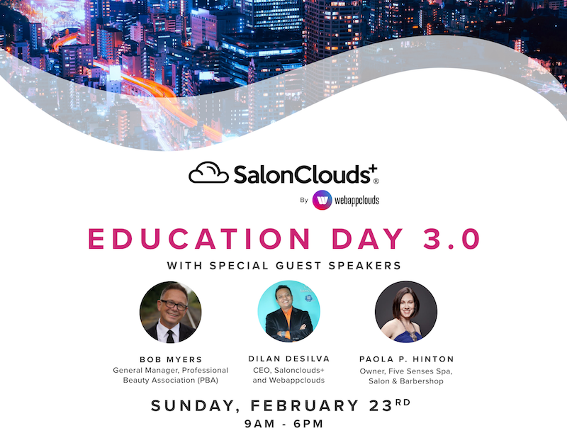 SalonClouds+ Education Day